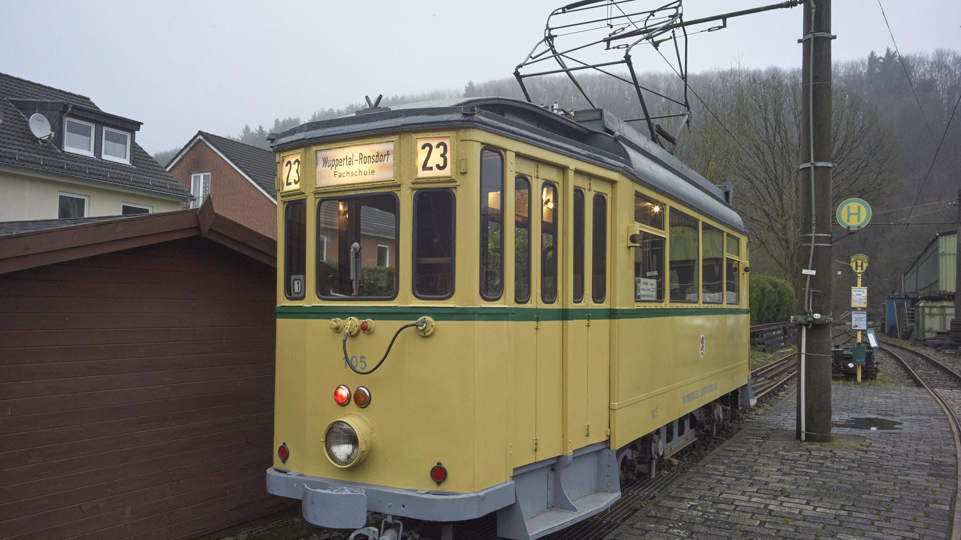 Bergische Museumsbahn erfreut